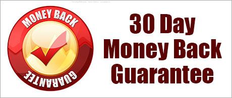 A money-back guarantee